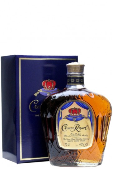 Crown Royal Fine De Luxe Blended Canadian Whisky 70cl