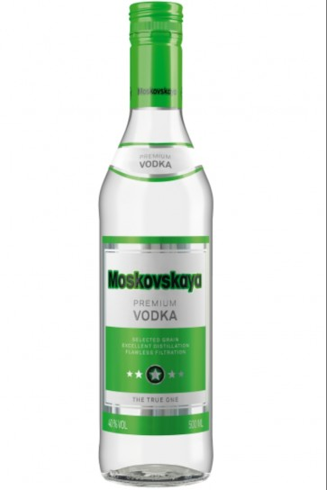 Vodka Moskovskaya 70cl
